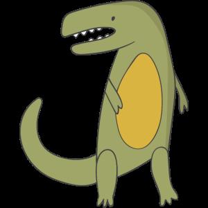Geschenk Dinosaurier Fossil Kawaii Trex Comic Dino