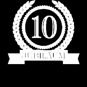 10. Jubiläum Ehejubiläum Dienstjubiläum