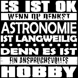 ASTRONOMIE - Es ist ok wenn du denkst..