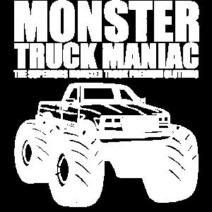 SUPERIORS™ - MONSTER TRUCK MANIAC - Shirt Motiv