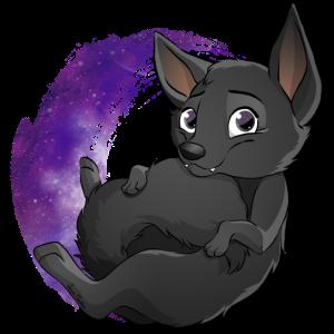 Galaxy Black Kelpie