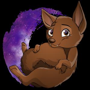 Kelpie Galaxie - Schokolade