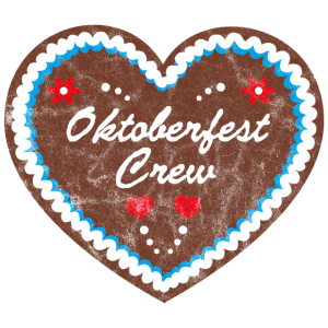 """Lebkuchenherz """"Oktoberfest Crew"""" grunge look"""