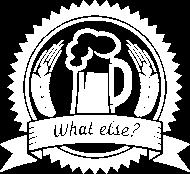 Oktoberfest & Wiesn Shirt: Bier - What else? used look weiß
