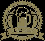 Oktoberfest & Wiesn Shirt: Bier - what else? used look sepia