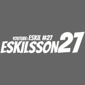 Eskilsson 27 sticker motive white