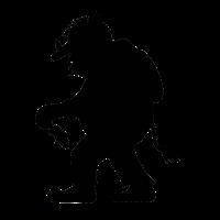 Norwegischer Troll | Trollfigur mit Tannenbaum