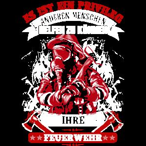 Feuerwehr Menschen helfen