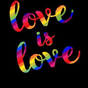 Love is love - Gay Lesbian Homo Pride CSD