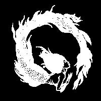 Mermaid-white