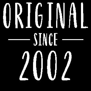 Original seit 2002 - Baujahr 2002