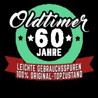 OLDTIMER 60 JAHRE ALT GESCHENK