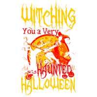 Witching you a hunted Halloween