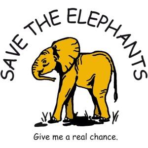 Babyelefant - Save The Elephants