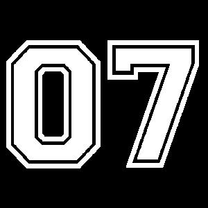 07 - AMERICAN FOOTBALL - Trikot Shirt Motiv