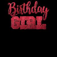 birthday girl Geburtstags Shirt