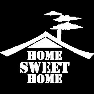 Home Sweet Home Weiß