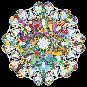 Flower Power - Kraft der Farbe