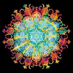 Flower Power Mandala