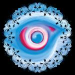 floral eye