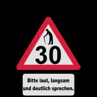 30. Geburtstag – Achtung, langsam sprechen (3f)