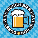 Durst wird durch Bier erst schoen Buttons