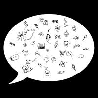 Ideen-Sprechblase