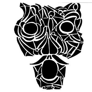 Le Masque de tribal