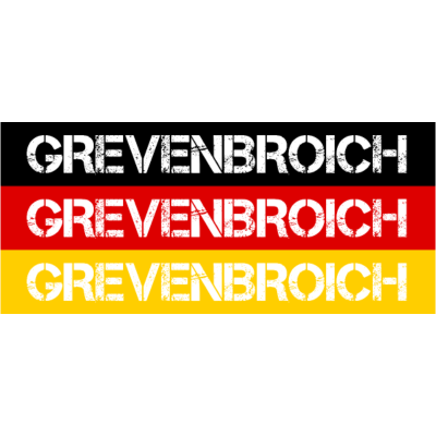 STADT GREVENBROICH, DEUTSCHLAND - GREVENBROICH ist deine Heimat? Dann ist dieses Design für dich! Heimat,Stadt,Deutschland,deutsch,städte,schwarz rot gold,Region,Orte,Ort,Stadtname,Metropole,großstadt,Heimatstadt,city,Deutschlandflagg - Deutschlandflagge,städte,GREVENBROICH,Region,deutsch,Stadt,BRD,Stadtname,Deutschland,Orte,Bundesrepublik,Ort,Deutschlandfahne,Heimatstadt,Metropole,Heimat,schwarz rot gold,city,großstadt