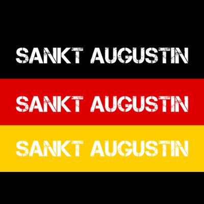 STADT SANKT AUGUSTIN, DEUTSCHLAND - SANKT AUGUSTIN ist deine Heimat? Dann ist dieses Design für dich! Heimat,Stadt,Deutschland,deutsch,städte,schwarz rot gold,Region,Orte,Ort,Stadtname,Metropole,großstadt,Heimatstadt,city,Deutschlandfla - Deutschlandflagge,städte,Region,deutsch,Stadt,BRD,Stadtname,Deutschland,Orte,SANKT AUGUSTIN,Bundesrepublik,Ort,Deutschlandfahne,Heimatstadt,Metropole,Heimat,schwarz rot gold,city,großstadt