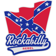 Rockabilly Rebel Flag