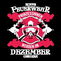 Dezember - Feuerwehr Prinzessin - Geburtstag - Outfit - DE