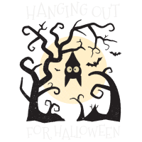 Hanging Halloween Bat