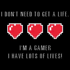 Ich brauche kein Leben zu bekommen