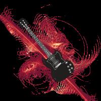 Gitarre Federn