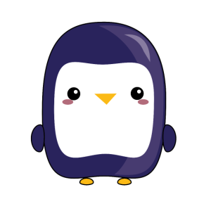 Netter Pinguin
