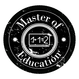 Master of Education Patch