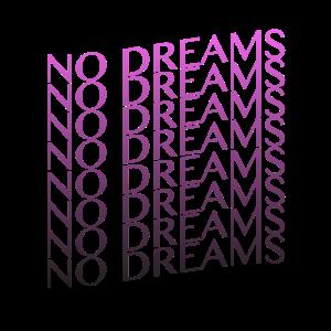 """""""No Dreams"""" Vaporwave Sad Boys Design"""