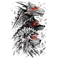 Dragon Wolf Lion