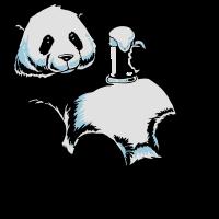 Partnershirt Panda - Papa