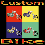 Motorrad Chopper Custom Bike