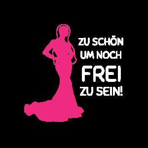 Junggesellenabschied T Shirt FÜR FRAUEN PINK