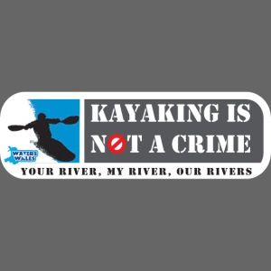 Kayaking is not a crime