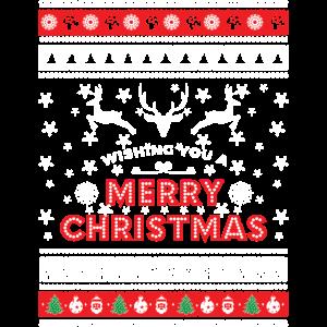 Ugly Christmas Sweater - Merry Christmas
