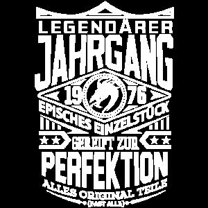 LEGENDÄRER JAHRGANG 1976