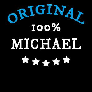 Original 100% Michael, Geschenk, Namen