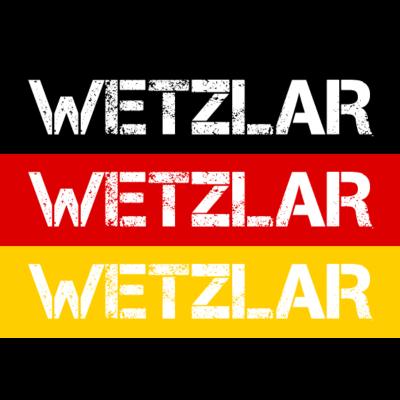 STADT WETZLAR, DEUTSCHLAND - WETZLAR ist deine Heimat? Dann ist dieses Design für dich! Heimat,Stadt,Deutschland,deutsch,städte,schwarz rot gold,Region,Orte,Ort,Stadtname,Metropole,großstadt,Heimatstadt,city,Deutschlandflagge,Bun - Deutschlandflagge,städte,Region,deutsch,Stadt,BRD,Stadtname,Deutschland,Orte,Bundesrepublik,Ort,WETZLAR,Deutschlandfahne,Heimatstadt,Metropole,Heimat,schwarz rot gold,city,großstadt