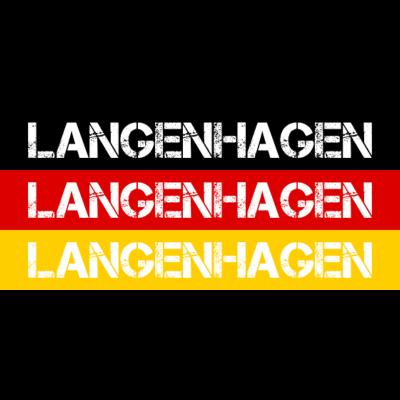 STADT LANGENHAGEN, DEUTSCHLAND - LANGENHAGEN ist deine Heimat? Dann ist dieses Design für dich! Heimat,Stadt,Deutschland,deutsch,städte,schwarz rot gold,Region,Orte,Ort,Stadtname,Metropole,großstadt,Heimatstadt,city,Deutschlandflagge - Deutschlandflagge,städte,Region,deutsch,Stadt,LANGENHAGEN,BRD,Stadtname,Deutschland,Orte,Bundesrepublik,Ort,Deutschlandfahne,Heimatstadt,Metropole,Heimat,schwarz rot gold,city,großstadt