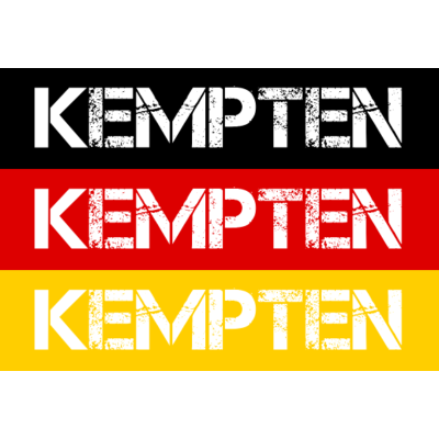 STADT KEMPTEN, DEUTSCHLAND - KEMPTEN ist deine Heimat? Dann ist dieses Design für dich! Heimat,Stadt,Deutschland,deutsch,städte,schwarz rot gold,Region,Orte,Ort,Stadtname,Metropole,großstadt,Heimatstadt,city,Deutschlandflagge,Bun - Deutschlandflagge,städte,Region,deutsch,Stadt,BRD,KEMPTEN,Stadtname,Deutschland,Orte,Bundesrepublik,Ort,Deutschlandfahne,Heimatstadt,Metropole,Heimat,schwarz rot gold,city,großstadt