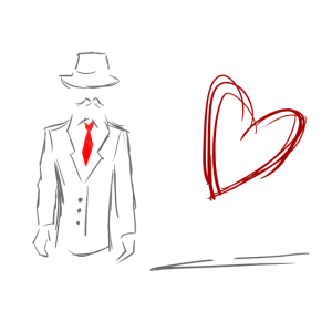 Mr. Right - Partnerlook Shirt 001